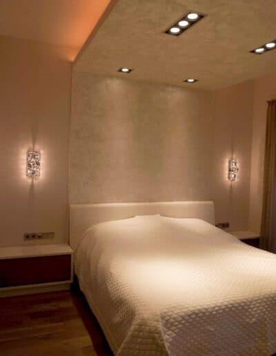 projektanci wnętrz mieszkanie na zoliborzu sypialnia 1C Sypialnia warszawski Żoliborz