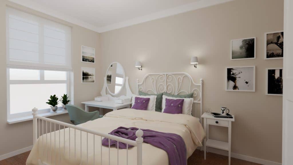 projektanci wnętrz mokotow pokoj dla corki 1c Sypialnia dla córki