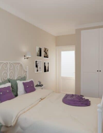 projektanci wnętrz mokotow pokoj dla corki 1d Sypialnia dla córki