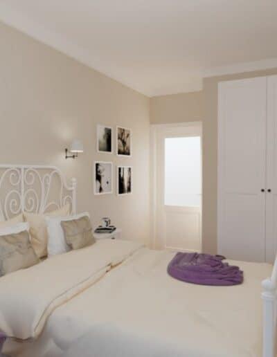 projektanci wnętrz mokotow pokoj dla corki 1g Pokój z sypialnią dla dziewczynki
