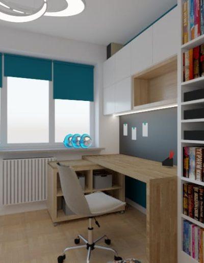 projektanci wnętrz pokoj dla chlopca 4b Aranzacja pokoju dla chłopca