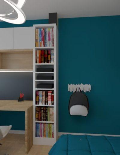 projektanci wnętrz pokoj dla chlopca 4d Aranzacja pokoju dla chłopca