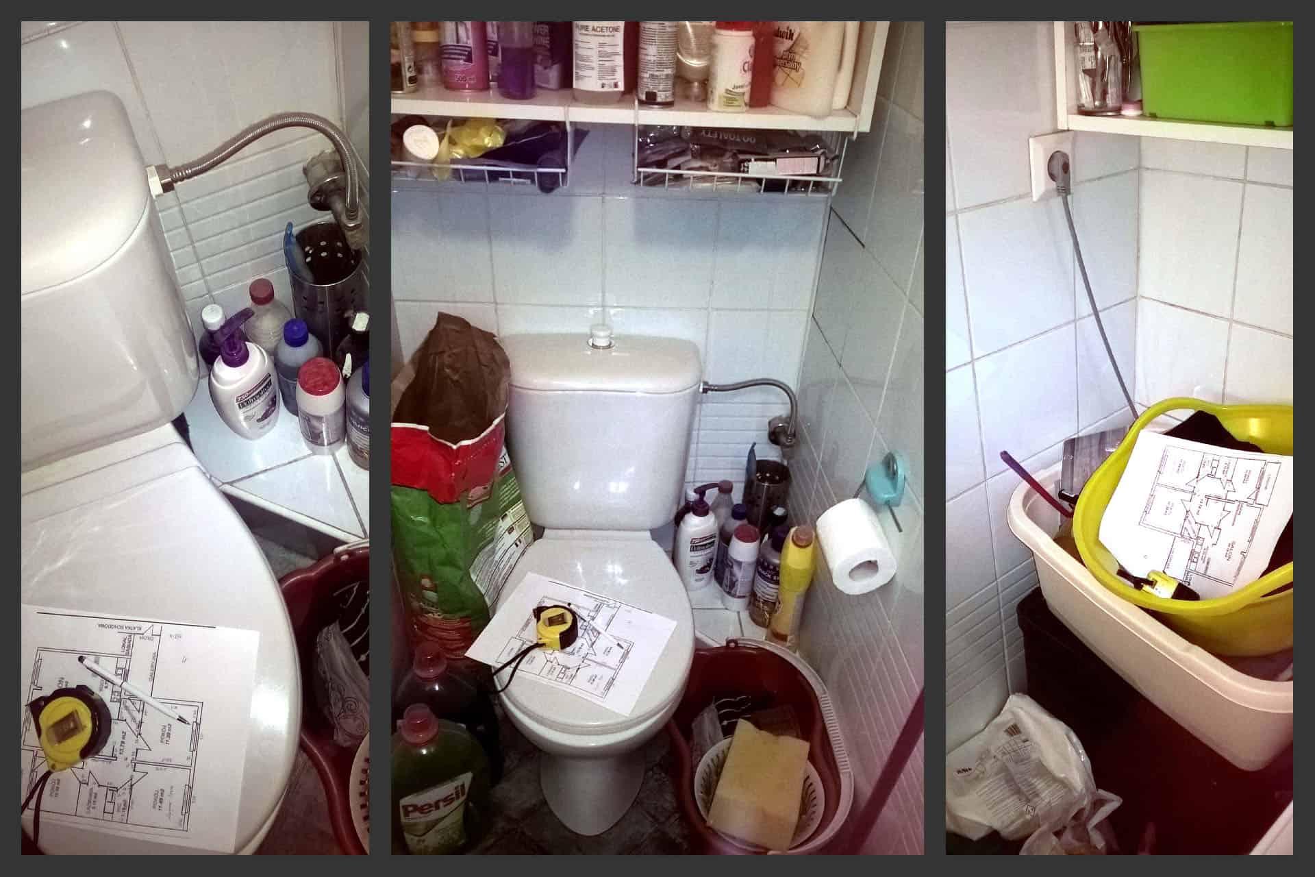 projektanci wnętrz przed toaleta ursynow Metamorfoza mieszkania