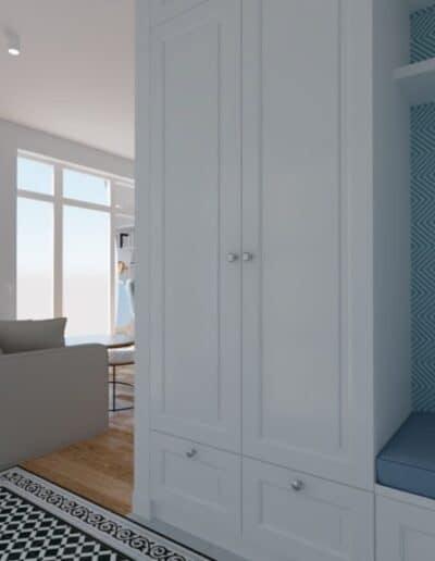 projektanci wnętrz salon otwarty na kuchnie f Salon otwarty na kuchnie