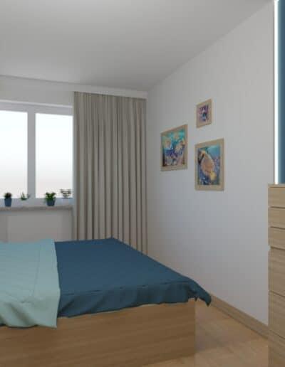 projektanci wnętrz sypialnia rodzicow 3b Sypialnia dla rodziców