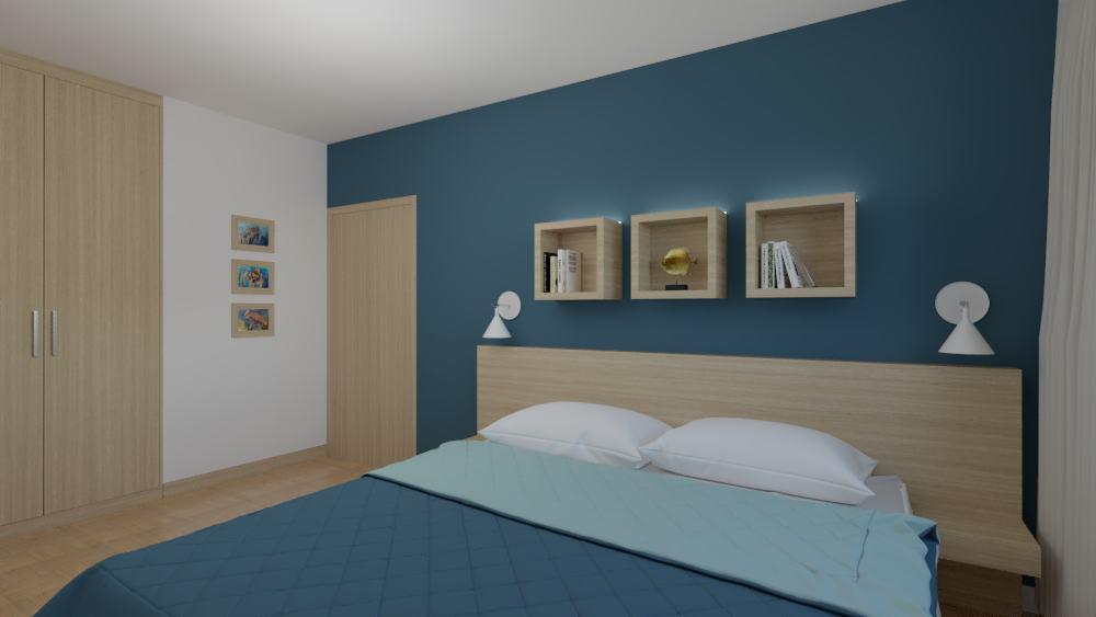 projektanci wnętrz sypialnia rodzicow 3d Sypialnia dla rodziców
